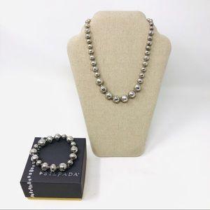 Silpada Ball Necklace Bracelet N1953 B1998